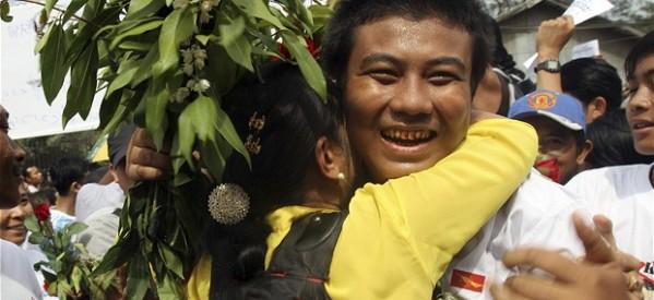 آزادی یک هزار و ۶۰۰ زندانی در میانمار