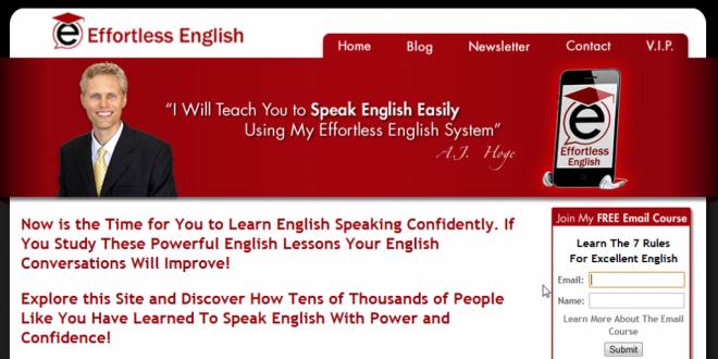 دانلود کاملترین مجموعه آموزش زبان انگلیسی Effortless English