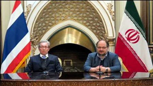 ایران و تایلند 6 سند همکاری امضا کردند