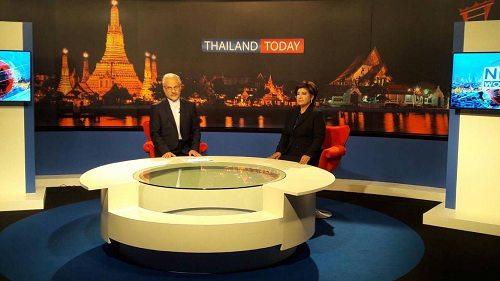 فیلم : مصاحبه ویژه سفیر کشورمان جناب آقای محمدی با شبکه NBT تایلند در رابطه با فوت پادشاه تایلند