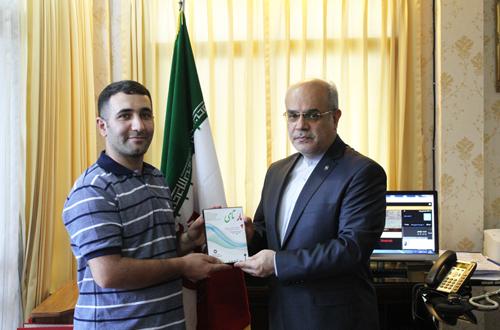 تقدیر و تشکر مسئولین دانشگاه اسامپشن تایلند از دانشجویان ایرانی برای تولید و انتشار دیکشنری پارسی تای